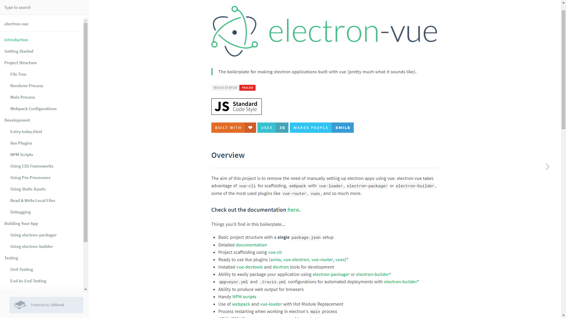 VueJS boilerplate electron vue