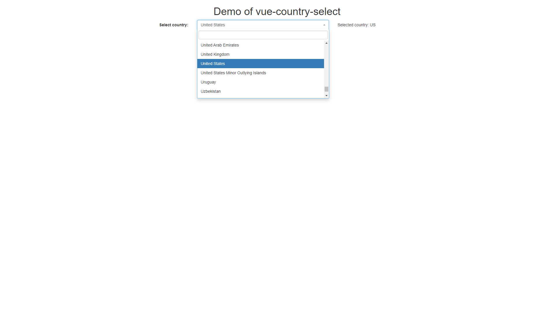 countries directory