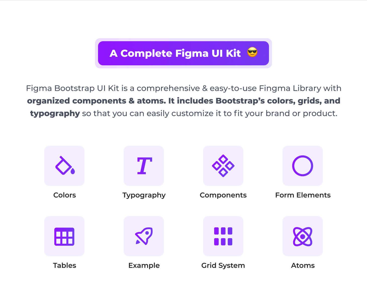 A Complete Figma UI Kit