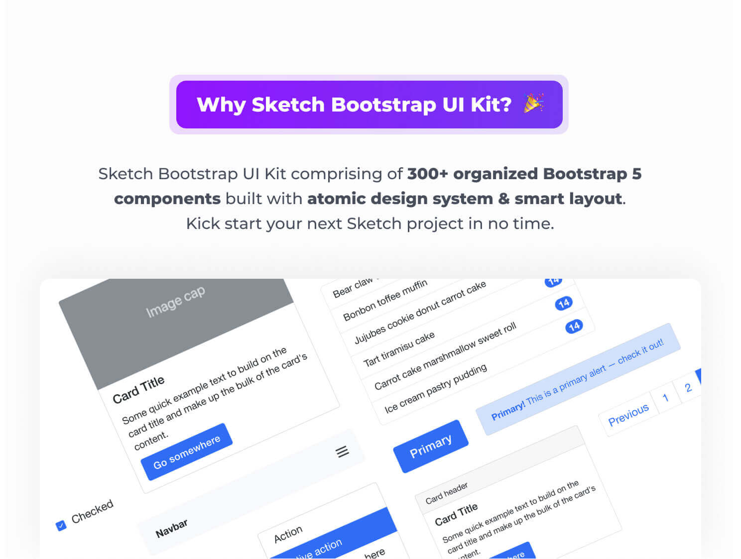 Why Sketch Bootstrap UI Kit?