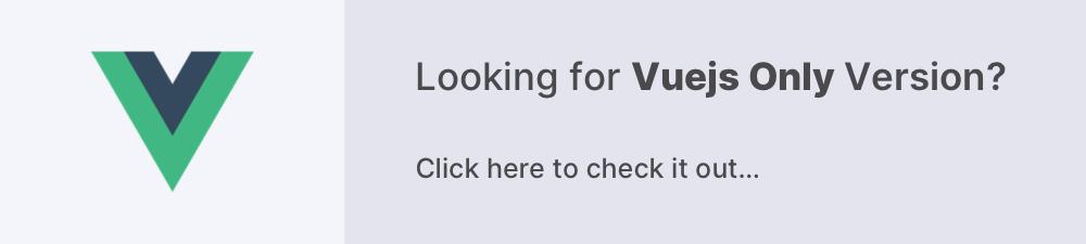 free vuejs admin template